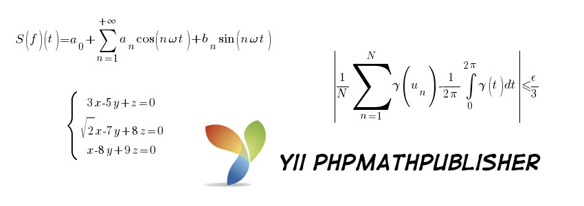 Yii PhpMathPublisher