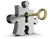 Ключ с замком