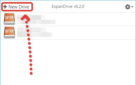 Настройка подключения по ExpanDrive
